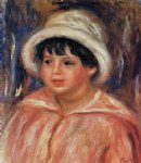 claude renoir by pierre auguste renoir paintings