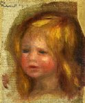 coco s head by pierre auguste renoir paintings