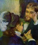 conversation by pierre auguste renoir paintings
