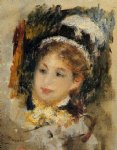 dame en toilette de ville by pierre auguste renoir paintings