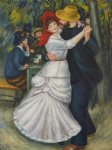 dance art - dance at bougival iii by pierre auguste renoir