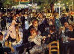 dance at the moulin de la galette by pierre auguste renoir original paintings