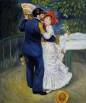 dance in the country ii by pierre auguste renoir painting