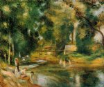 essoyes landscape by pierre auguste renoir painting