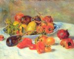 pierre auguste renoir fruits from the midi prints
