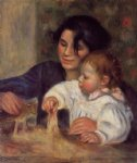 gabrielle and jean ii by pierre auguste renoir paintings