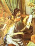 pierre auguste renoir girls at the piano i art