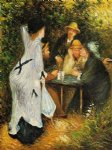 in the garden ii by pierre auguste renoir paintings