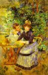 pierre auguste renoir in the garden. (dans le jardin) prints