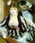 la loge i by pierre auguste renoir paintings