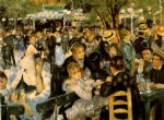 la moulin de la galette by pierre auguste renoir paintings