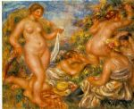 les baigneuses by pierre auguste renoir paintings