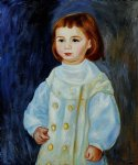 lucie berard child in white 1883 by pierre auguste renoir painting