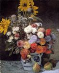 pierre auguste renoir mixed flowers in an earthware pot painting 80870