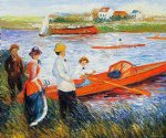 oarsmen at chatou ii by pierre auguste renoir painting