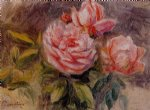 roses ii by pierre auguste renoir paintings