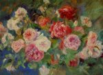 roses iii by pierre auguste renoir paintings