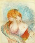 seated woman iii by pierre auguste renoir paintings