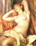 sleeping bather by pierre auguste renoir paintings