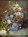 spring bouquet by pierre auguste renoir painting