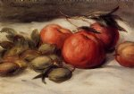 pierre auguste renoir still life with apples and almonds painting 26237