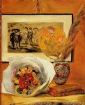 pierre auguste renoir still life with bouquet painting 26240