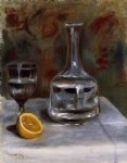 pierre auguste renoir still life with carafe painting 26241