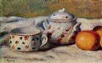 pierre auguste renoir still life with cup and sugar bowl painting 26242