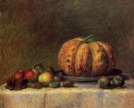 pierre auguste renoir still life with fruit ii painting