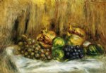 pierre auguste renoir still life with grapes painting 26252
