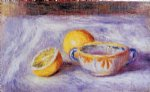 pierre auguste renoir still life with lemons painting 26254