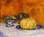 pierre auguste renoir still life with melon painting 26256