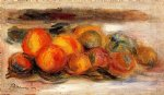 pierre auguste renoir still life with peaches painting-26263