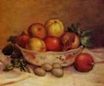 pierre auguste renoir still life with pomegranates painting-26265