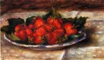 pierre auguste renoir still life with strawberries ii painting-26268