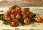 pierre auguste renoir still life with strawberries iv painting