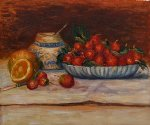 strawberries by pierre auguste renoir paintings