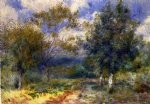 sunny landscape by pierre auguste renoir paintings