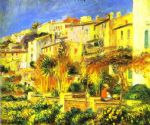 terrace at cagnes by pierre auguste renoir painting