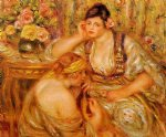 the agreement by pierre auguste renoir painting