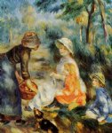 the apple seller by pierre auguste renoir paintings