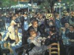 pierre auguste renoir the ball at the moulin de la galette prints