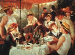 pierre auguste renoir the boating party lunch posters