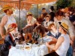 boat acrylic paintings - the boating party lunch i by pierre auguste renoir