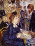 the cafe by pierre auguste renoir painting