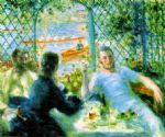 pierre auguste renoir the canoeists luncheon painting