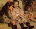 the children of martial caillebotte by pierre auguste renoir painting