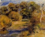 pierre auguste renoir the clearing painting