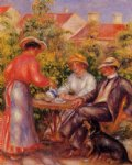 pierre auguste renoir the cup of tea painting