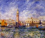 pierre auguste renoir the doges palace venice oil paintings